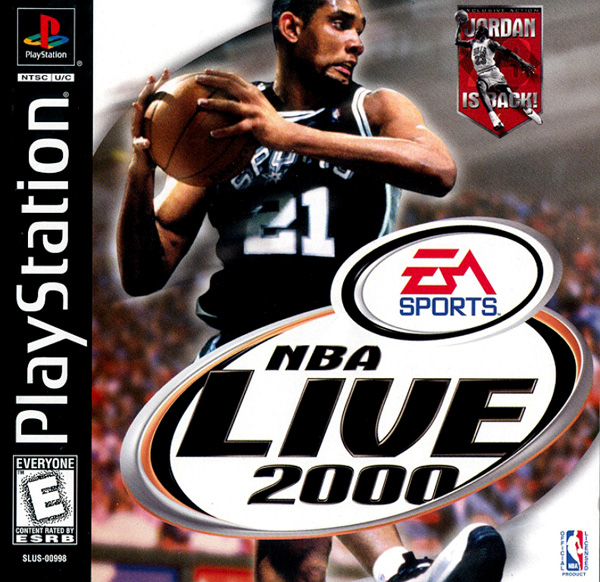 NBA Live 2000 - PS1 - ISOs Download
