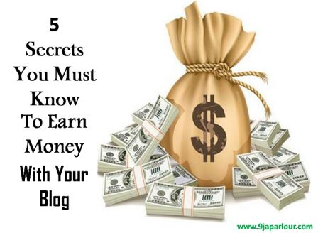 secrets to making money through blogging