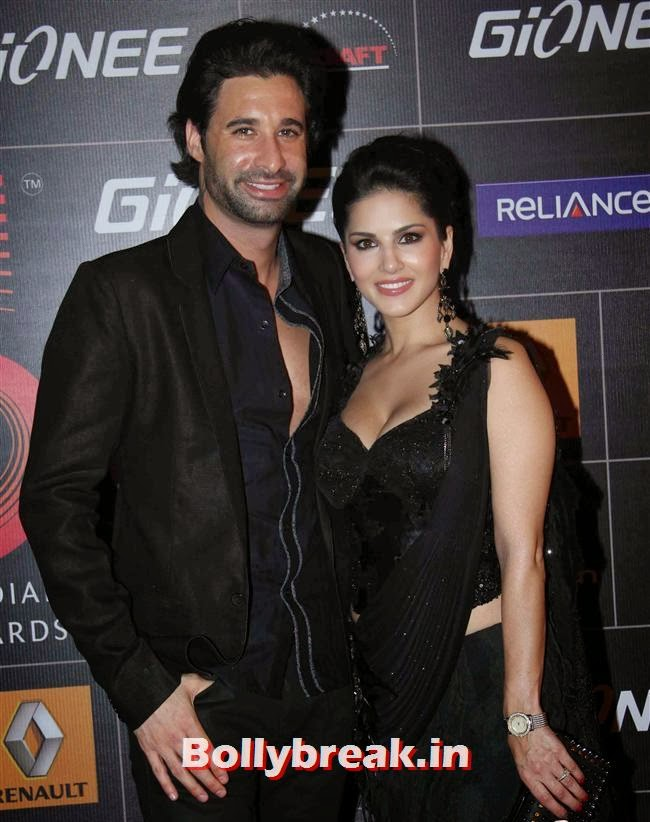Daniel Weber and Sunny Leone, Global Indian Music Awards 2014 Pics