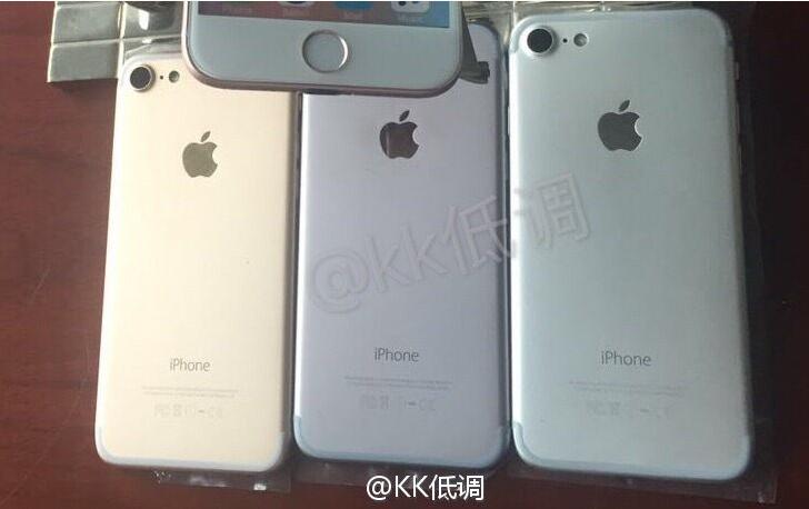 Le scocche di iPhone 7 mostrate in video (il jack non c'è) HTNovo