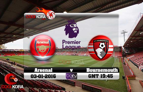 مشاهدة مباراة بورنموث وآرسنال اليوم 3-11-2017 في الدوري الإنجليزي