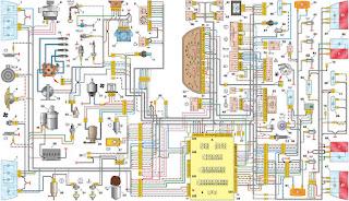 Elektrische Schema VAZ 2110 2111 2112