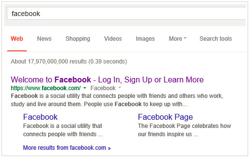 Google Go To Facebook Login