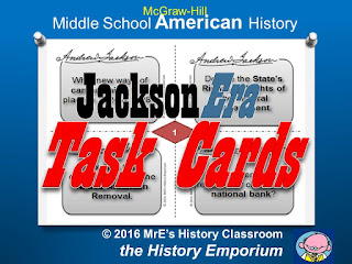 https://www.teacherspayteachers.com/Product/McGraw-Hill-American-History-Jackson-Era-Task-Cards-2607805