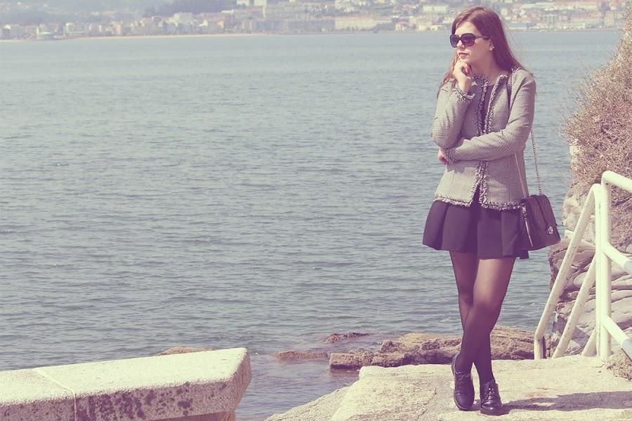 Outfit handmade Chaqueta Chanel - Punto de Lu