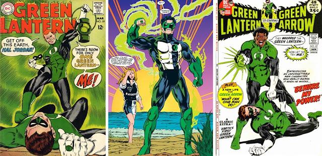 Green Lanterns humanos
