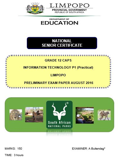 Limpopo Department Of Education Past Exam Papers Grade 10