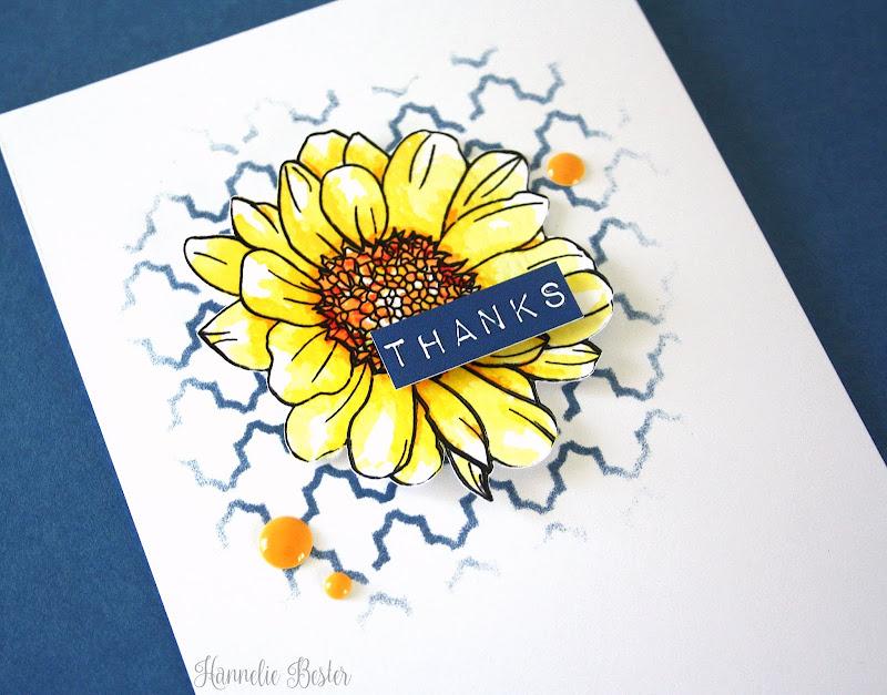 Altenew Spring daisy