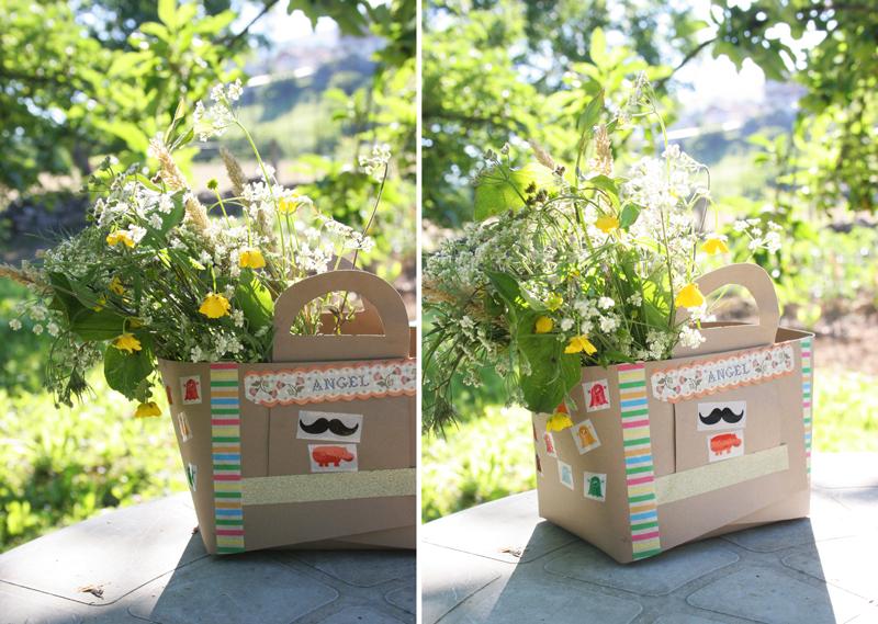 Decorar en familia_Taller de Creactividad: Diy cesta de picnic de cartón10