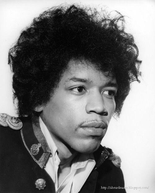 Jimi Hendrix. Photo by Harry Goodwin, 1967