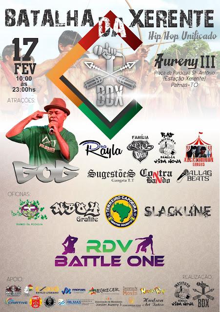 GOG se apresenta em dois eventos de Hip Hop em Palmas no Tocantins