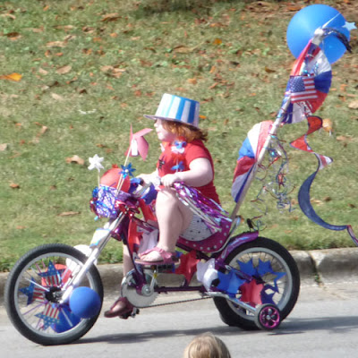 Host a Handmade Kid s Bike Parade for Any Celebration   Belly     A few weeks before the bicycle parade  signs were posted at all of the main  neighborhood entrances telling what time and