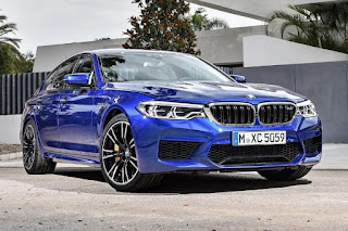 BMW M5 Saloon (2018) Front Side 1