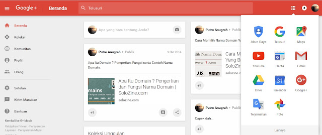 Google Plus Solozine.com