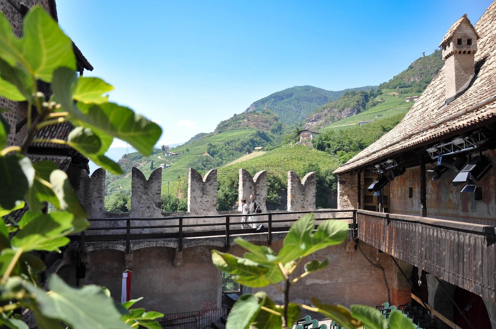Inside Runkelstein Castle, Bolzano, South Tyrol, Italy