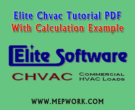 Elite Chvac Tutorial PDF - With Calculation Example