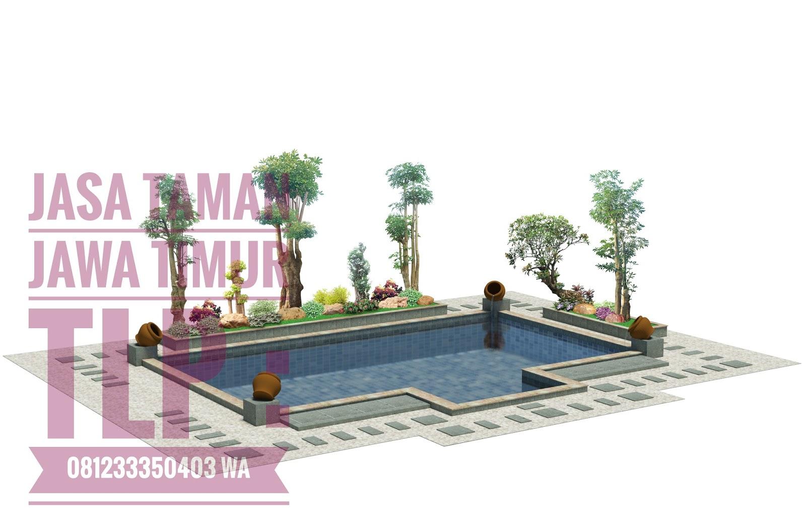 Jasa Desain Taman Kolam Terbaik Di Surabaya Jasa Taman Jawa Timur