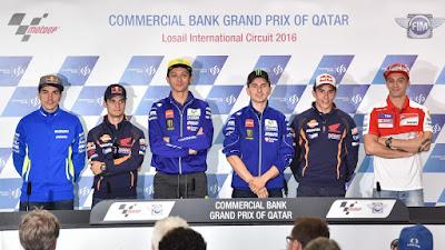 Polling! Siapa Pemenang Race MotoGP Qatar 2016?