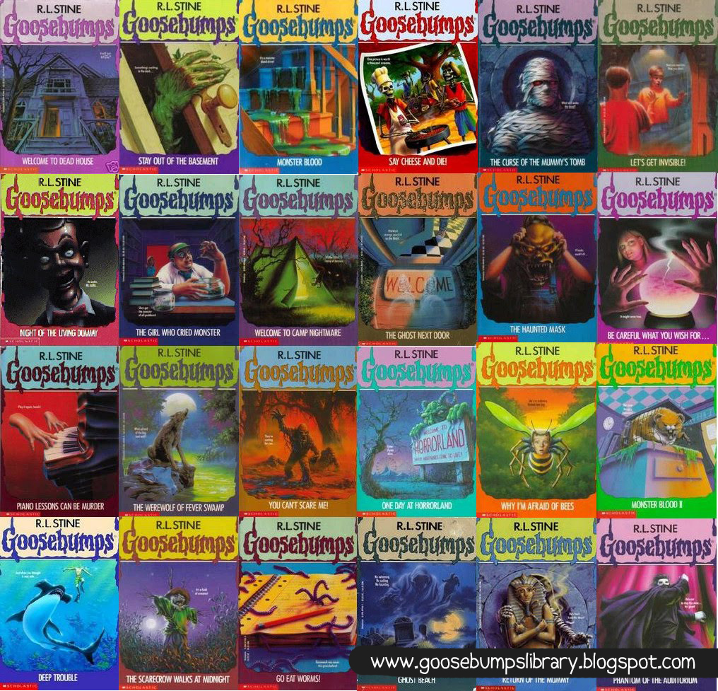 Goosebumps All Books Pdf
