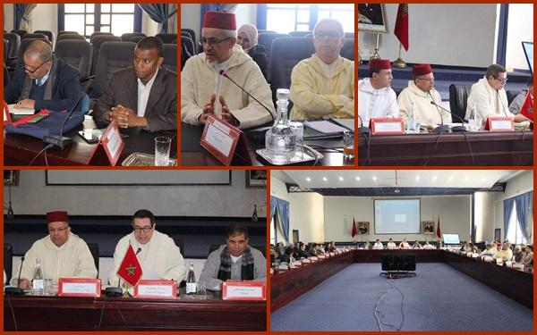 اجتماع اللجنة الجهوية لتتبع برنامج رد الاعتبار لمدينتي تارودانت وتزنيت العتيقتين