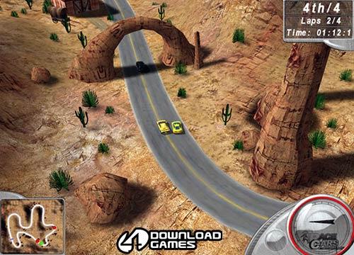 تحميل لعبة سيارات سباق Hot Racing 2  للكمبيوتر