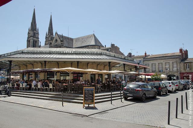 Mercado Chartrons Burdeos Bordeaux viaje a Aquitania Bretaña Normandía