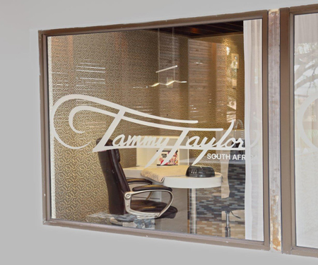 Tammy taylor nails south africa opens flagship salon in for 18 8 salon franchise