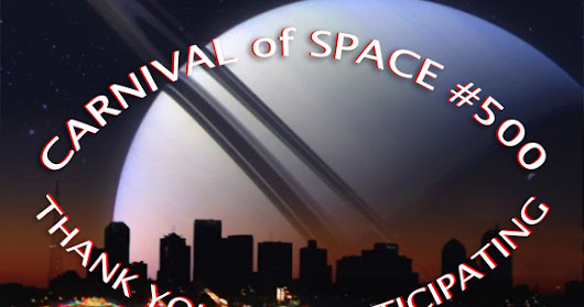 Carnival of Space #500 here @ Links Through Space
