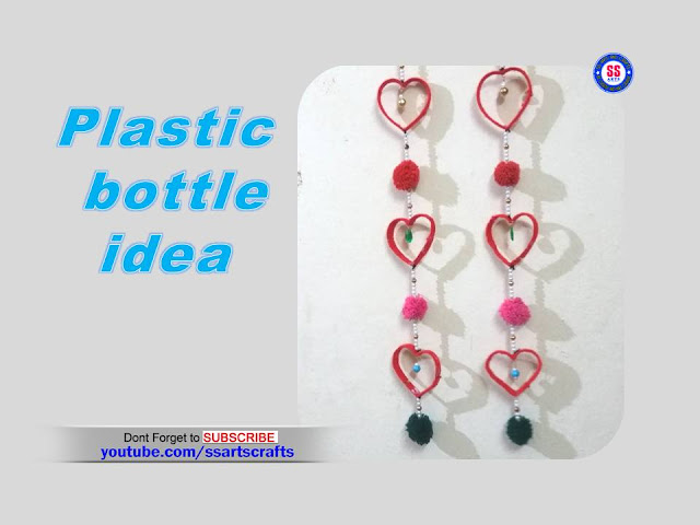 Here is plastic bottle crafts,plastic bottle re use ideas,kids crafts with recycled plastic bottle,plastic bottle wind chime,plastic bottle hanging ideas,plastic bottle wall decor ideas,plastic bottle lamps,plastic bottle pets making,plastic bottle flowers,plastic bottle show pieces,how to make plastic bottle hearts wall hanging