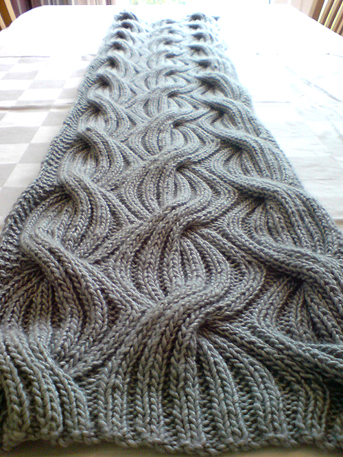 Heidi's bridesmaid shawl - Knitting Pattern