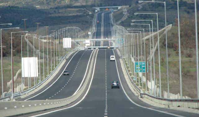 Στα μέσα Δεκεμβρίου ο αυτοκινητόδρομος Κόρινθος – Τρίπολη - Καλαμάτα