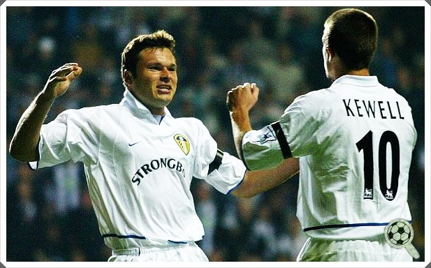 Mark Viduka Harry Kewell Leeds United