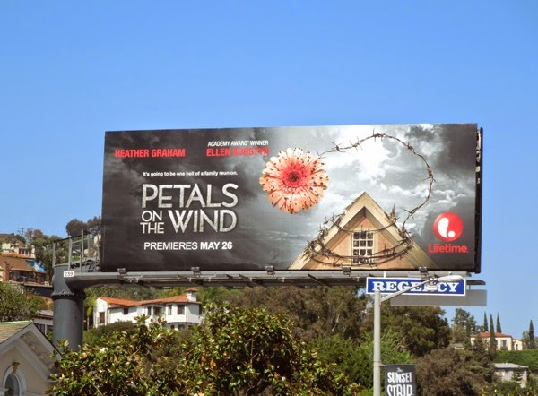 Petals on the Wind movie billboard