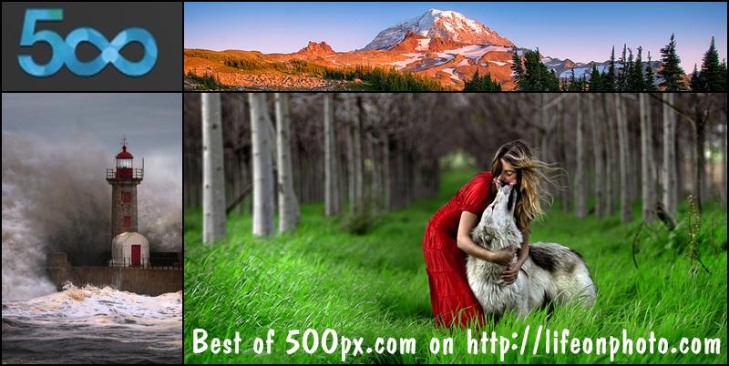 Популярные фотографии с сайта 500px.com