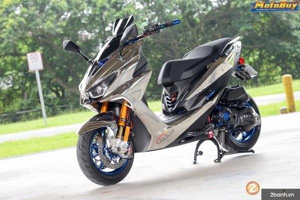 Isnpirasi  Modifikasi Untuk Yamaha Aerox