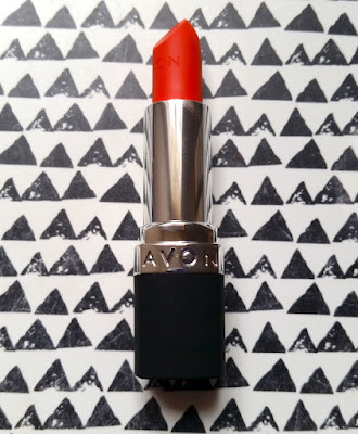 Avon Perfectly Matte Lipstick in Absolutely Coral