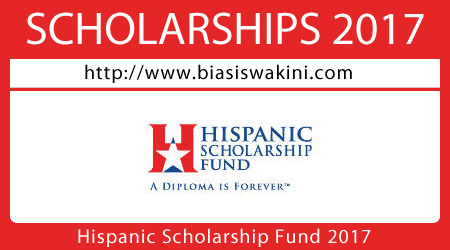 Hispanic Scholarship Fund 2017