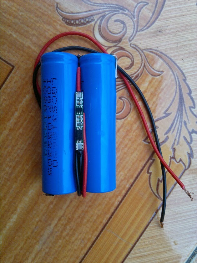 Battery Circuit For Backup Standby Operation
