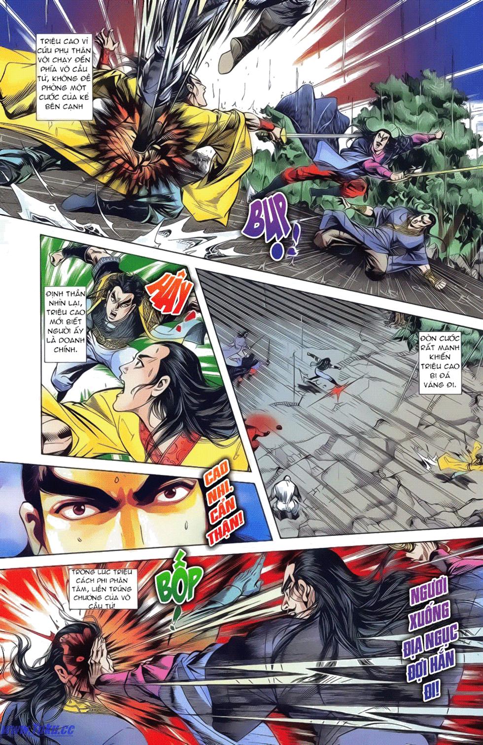 Tần Vương Doanh Chính chapter 18 trang 4