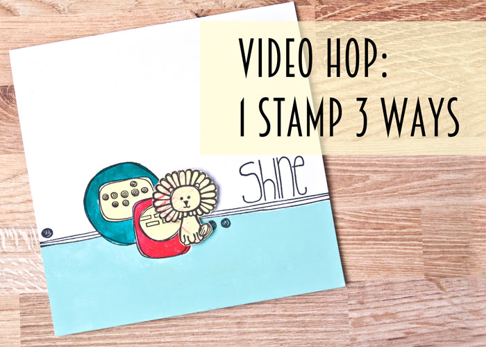 Video hop Card by Kim Dellow