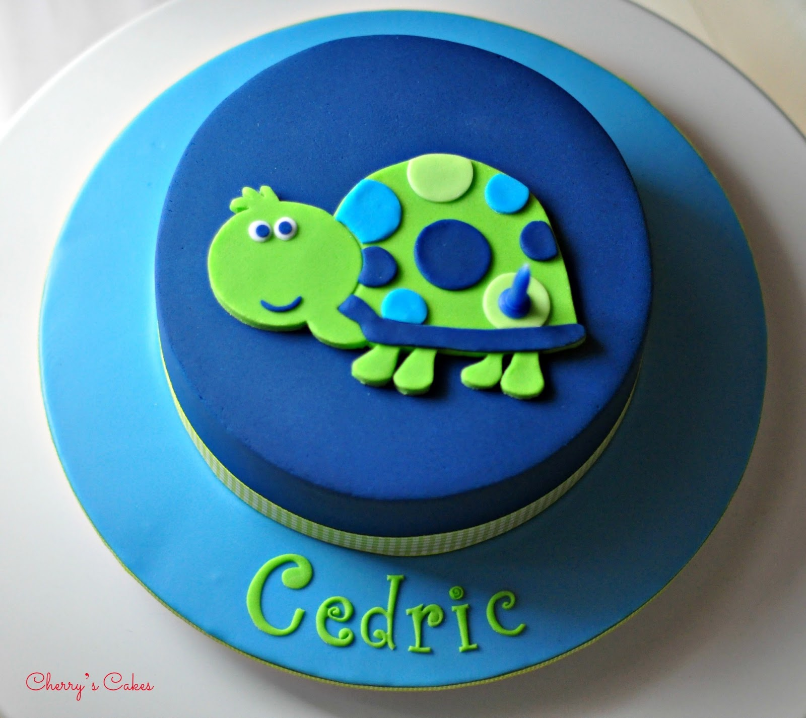 Cherry's Cakes: Cedric & His Turtle - photo#20