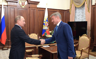 President Putin, Sberbank CEO.