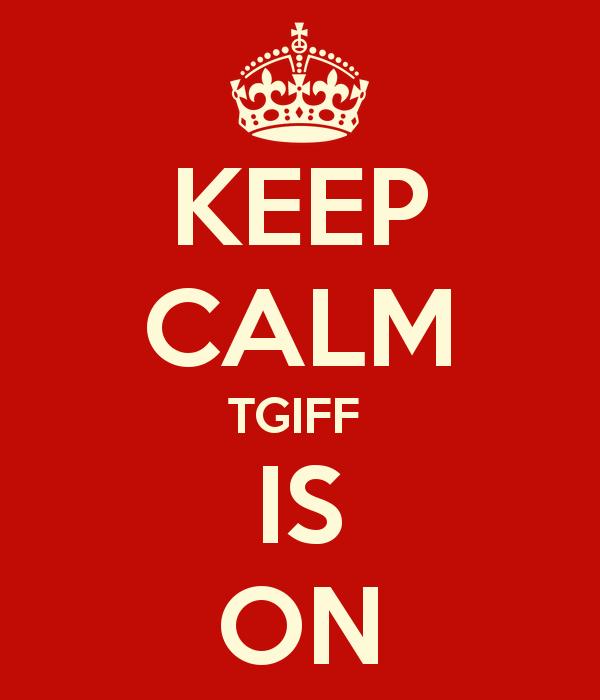 bb31fa1fe8de Thank Goodness It s Finished Friday!  TGIFF