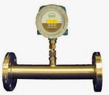 inline gass flow meter