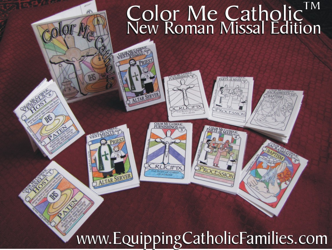 Color Me Catholic Cathletics Craft Kit Arma Dei