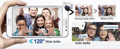 SAMSUNG GALAXY GRAND MAX - Enhanced for Selfies