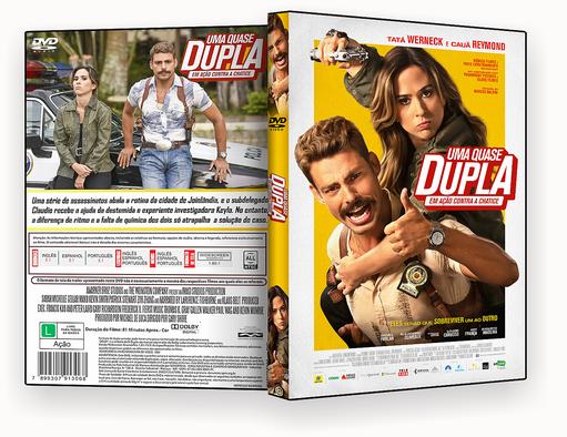 CAPA DVD – Uma quase Dupla Em ação DVD-R