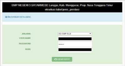 Cara download Prefill Dapodik 2018 B Semester 2