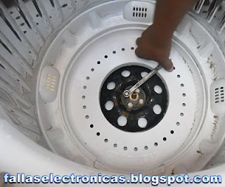 lavadora electrolux golpea tambor al centrifugar