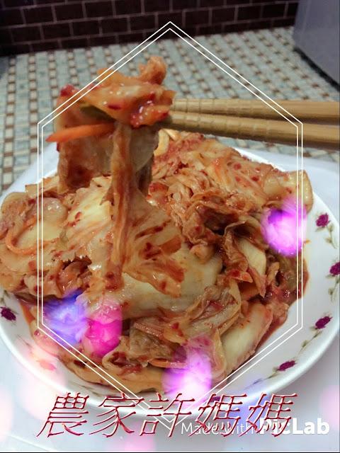 吃起來爽度超高農家許媽媽韓國泡菜